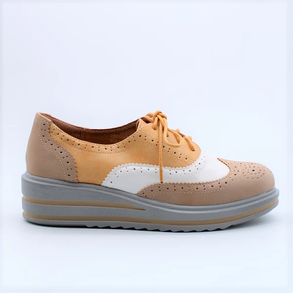 Madison Ezra  Brogue - Yellow