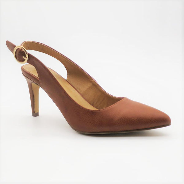 Queue Women's Harper Slingback Heel - Tan