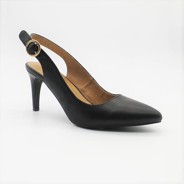 Queue Women's Harper Slingback Heel - Black