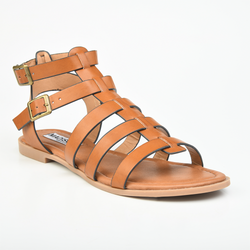 Madison Yara Gladiator Sandal - Tan