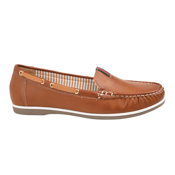 Franco Rossi Women's Stella Casual Mocassins - Tan