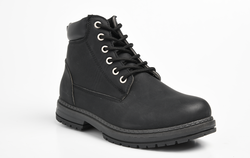Dodo's Women's Sam Lace Up Boot - Black
