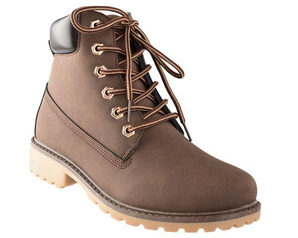 Dodo's Women's Harley Lace Up Boot - Chocolate