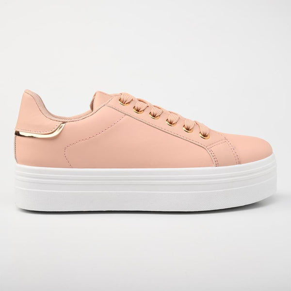 Aria Pink Sneakers-Madison Heart of New York-Buy shoes online