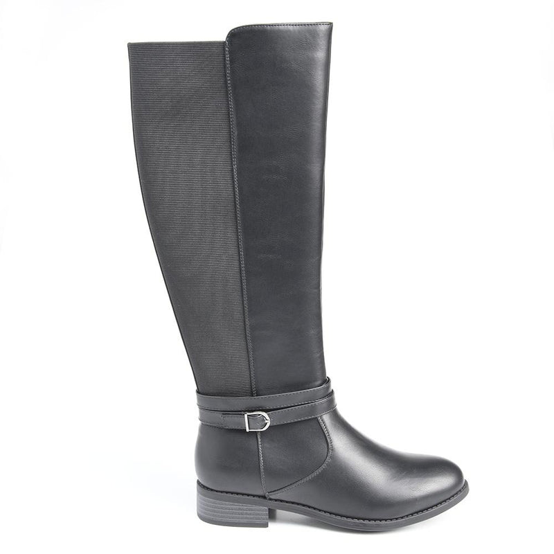Dodo's Women's Alia Rider Boots - Black-Dodos-Buy shoes online