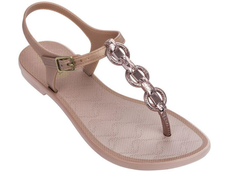 Grendha Women's Chain Fem Thong Sandals - Pink-Ipanema-Buy shoes online