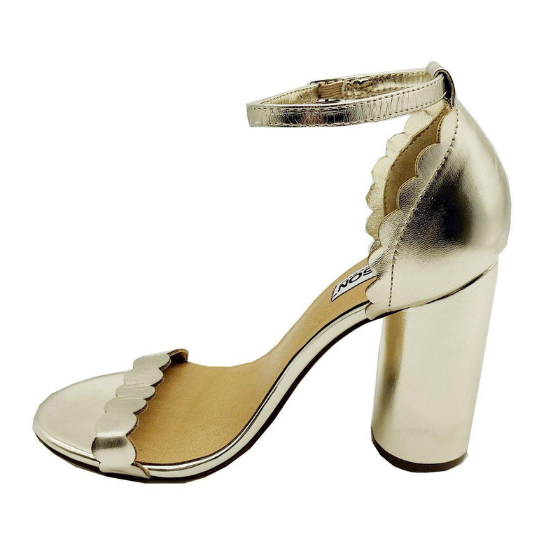 Liz Gold Round Heels-Madison Heart of New York-Buy shoes online