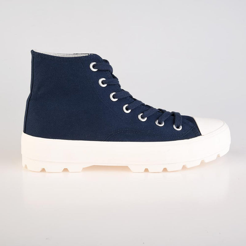 Loxion Kulca Women's Lita High Top Sneaker - Navy-Loxion Kulca-Buy shoes online