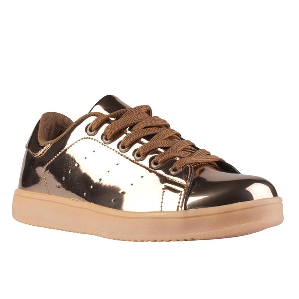 Madison Aimee Rose Gold Sneakers