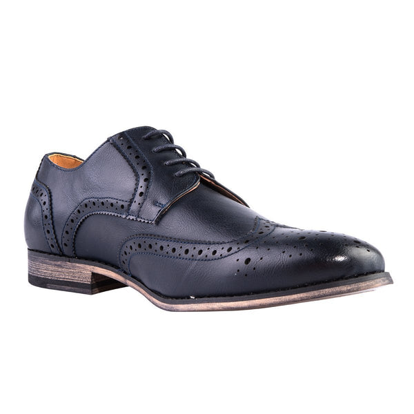 Madison Bradley Navy Mens Formal Shoes