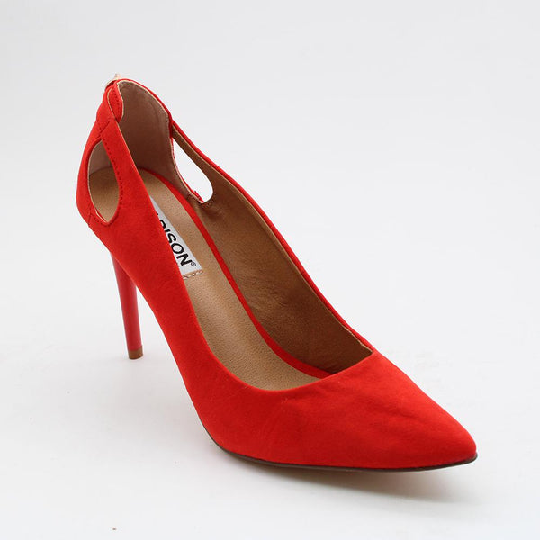 Madison Camryn Red High Heels-Madison Heart of New York-Buy shoes online