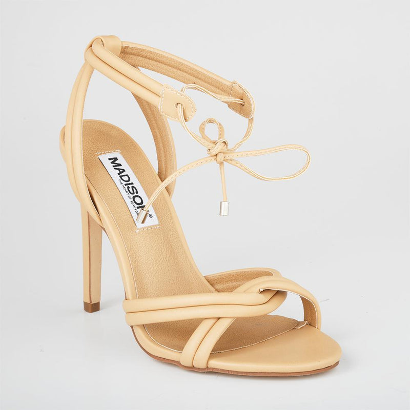 Madison Cassie Nude High Heels-Madison Heart of New York-Buy shoes online