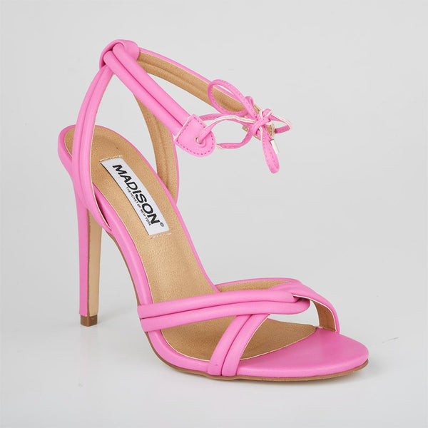 Madison Cassie Pink High Heels-Madison Heart of New York-Buy shoes online