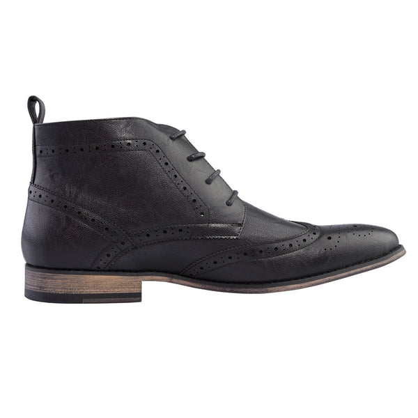 Madison Chad Black Mens Formal Shoes