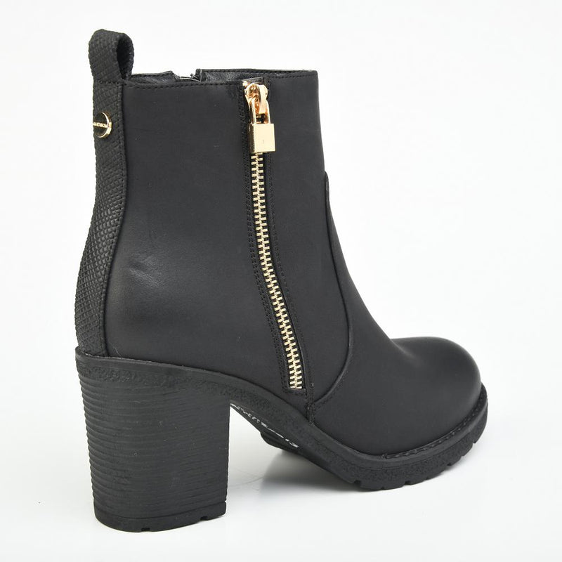 Madison Gabriella Boot - Black-Madison Heart of New York-Buy shoes online