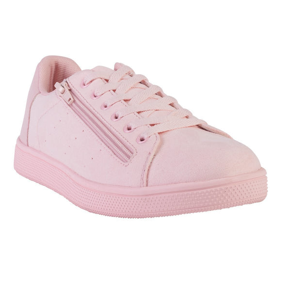 Madison Gracen Pink Sneakers