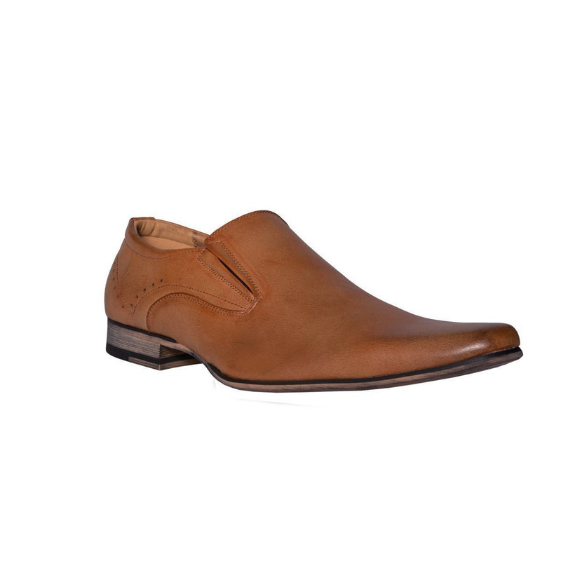 Madison Harrison Tan Mens Formal Shoes