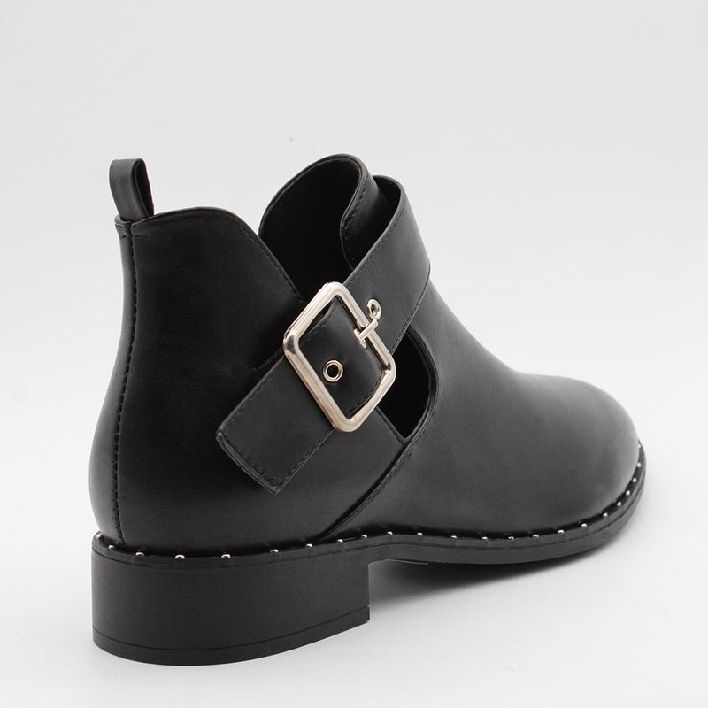 Madison Kendra Boot - Black-Madison Heart of New York-Buy shoes online