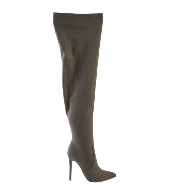 Madison Kenna Olive Long Boots