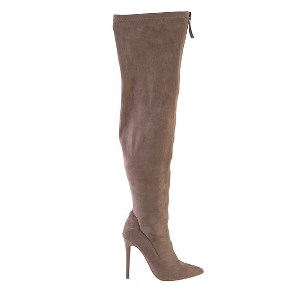 Madison Kessa Taupe Long Boots