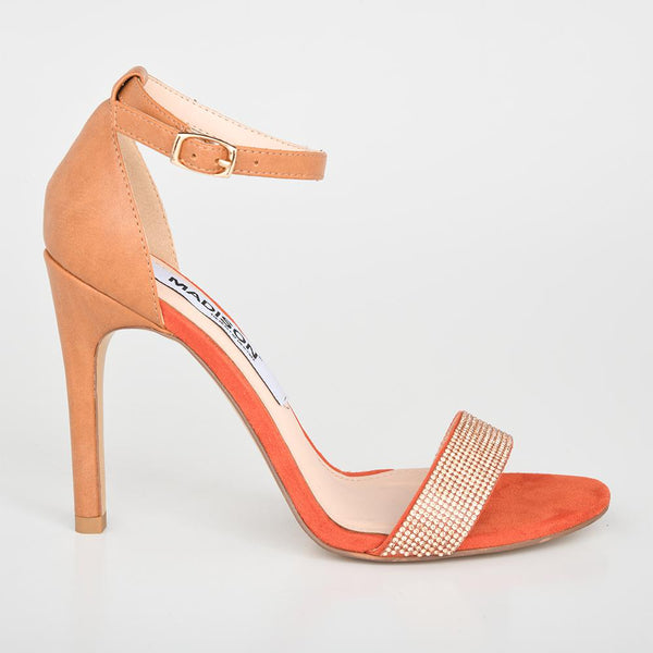 Madison Lin Orange Sandal-Madison Heart of New York-Buy shoes online