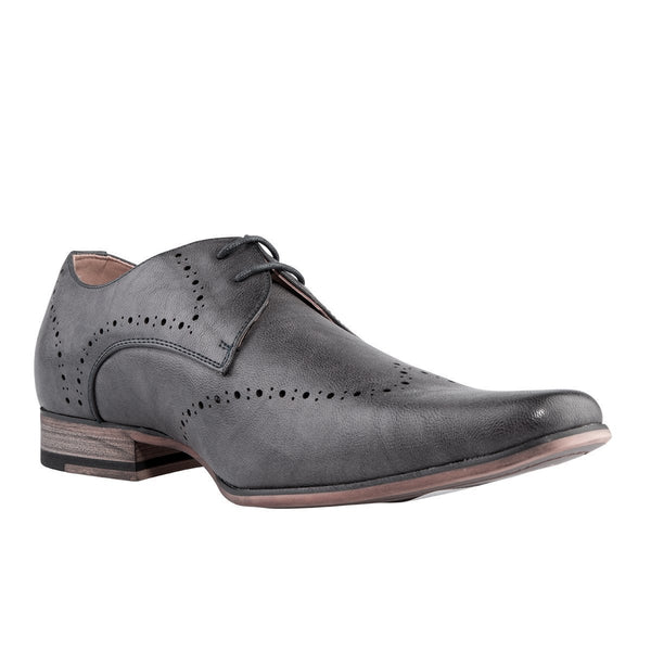 Madison Nick Grey Mens Formal Shoes