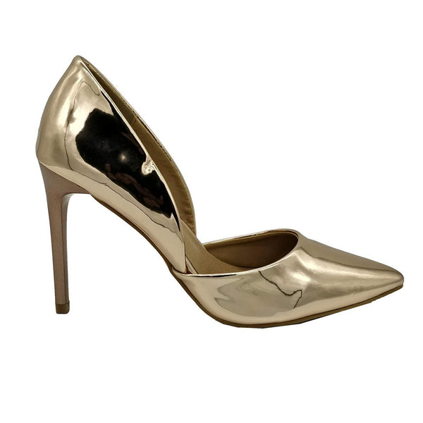 Madison Sia Rose Gold Court Heels