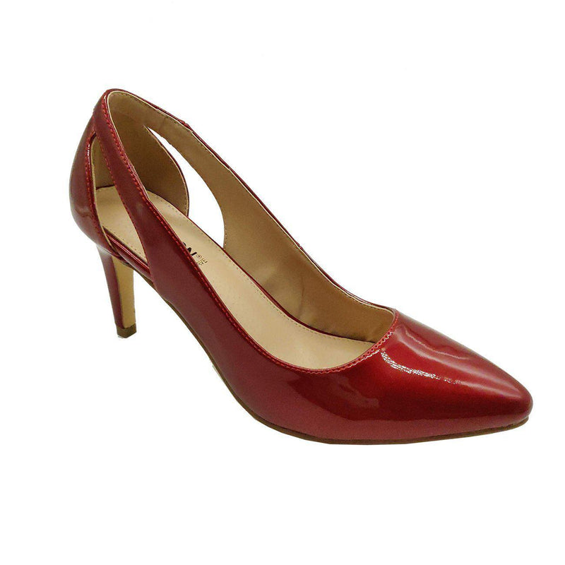 Madison Vicky Red Court Heels-Madison Heart of New York-Buy shoes online