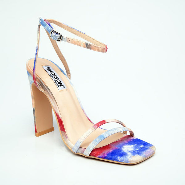 Madison Willow Block Heel Sandal - Multi-Madison Heart of New York-Buy shoes online
