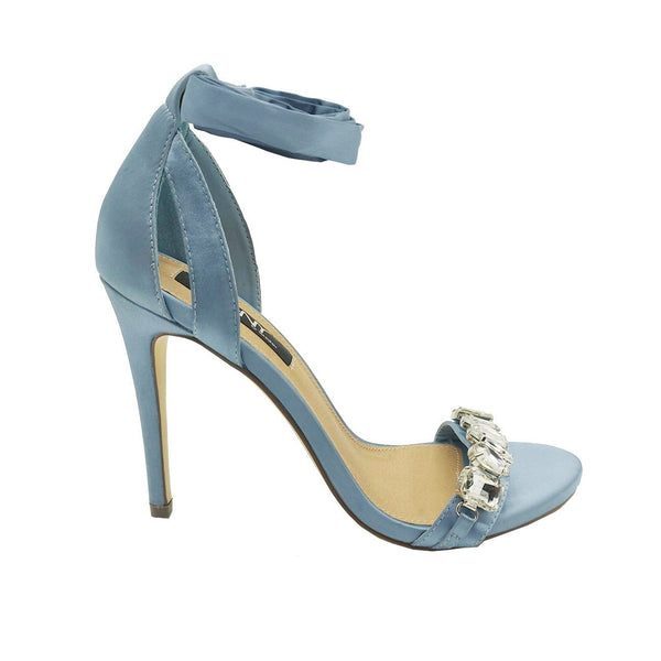 MHNY by Madison Tia Blue High Heels