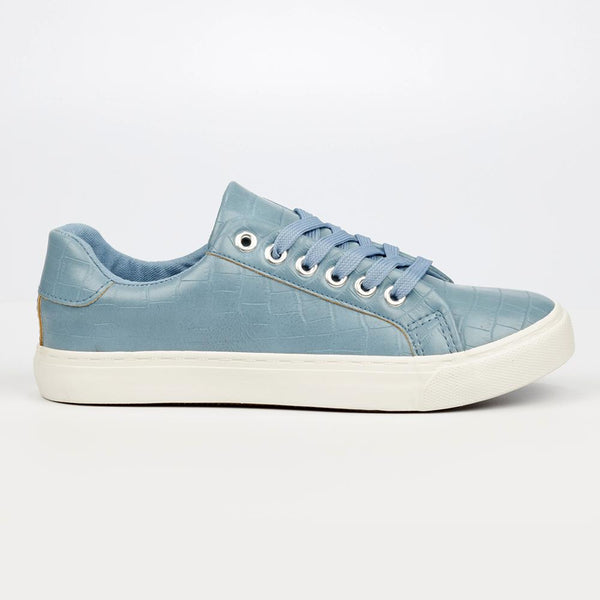 Miss Black Baker 6 Sneaker - Blue-Miss Black-Buy shoes online