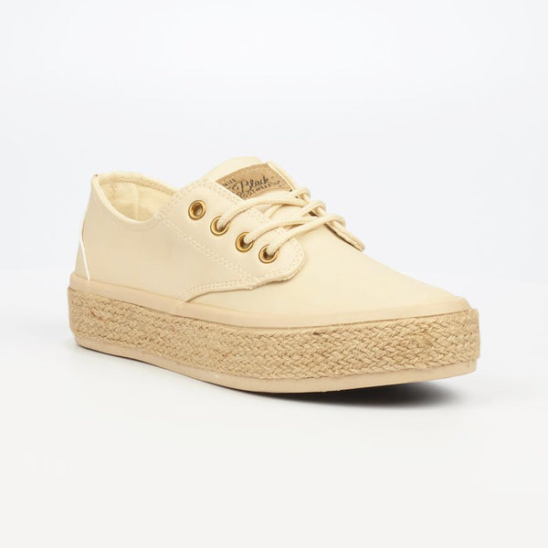 Miss Black Regine Sneaker - Taupe-Miss Black-Buy shoes online