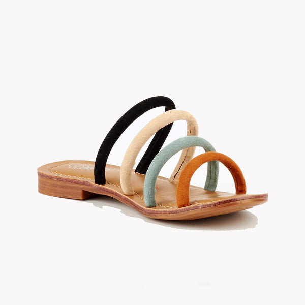 Miss Black Sicily Strappy Sandals - Multi-Miss Black-Buy shoes online
