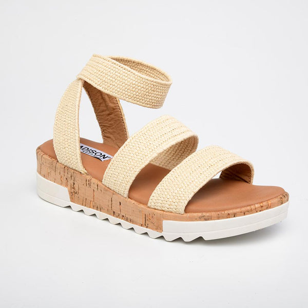 Remy Comfort Sandals - Nude-Madison Heart of New York-Buy shoes online