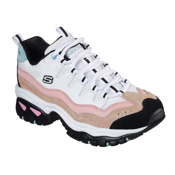 Skechers Energy Sneakers - White Multi-Skechers-Buy shoes online