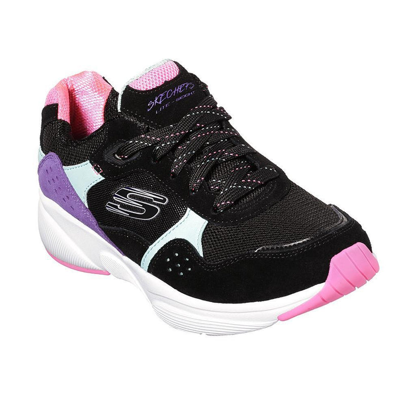 Skechers Meridian Sneakers - Black Multi-Skechers-Buy shoes online