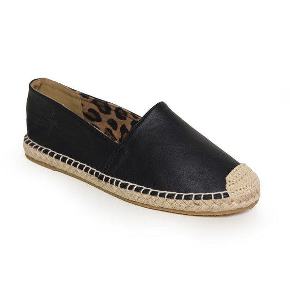 Soviet Women's Tora Slip On Espadrille - Black-Soviet-Buy shoes online