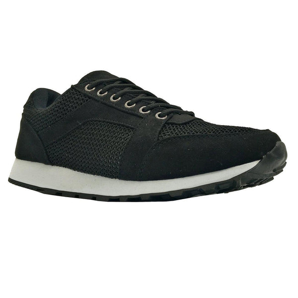 Tatum Black Sneakers-Madison Heart of New York-Buy shoes online