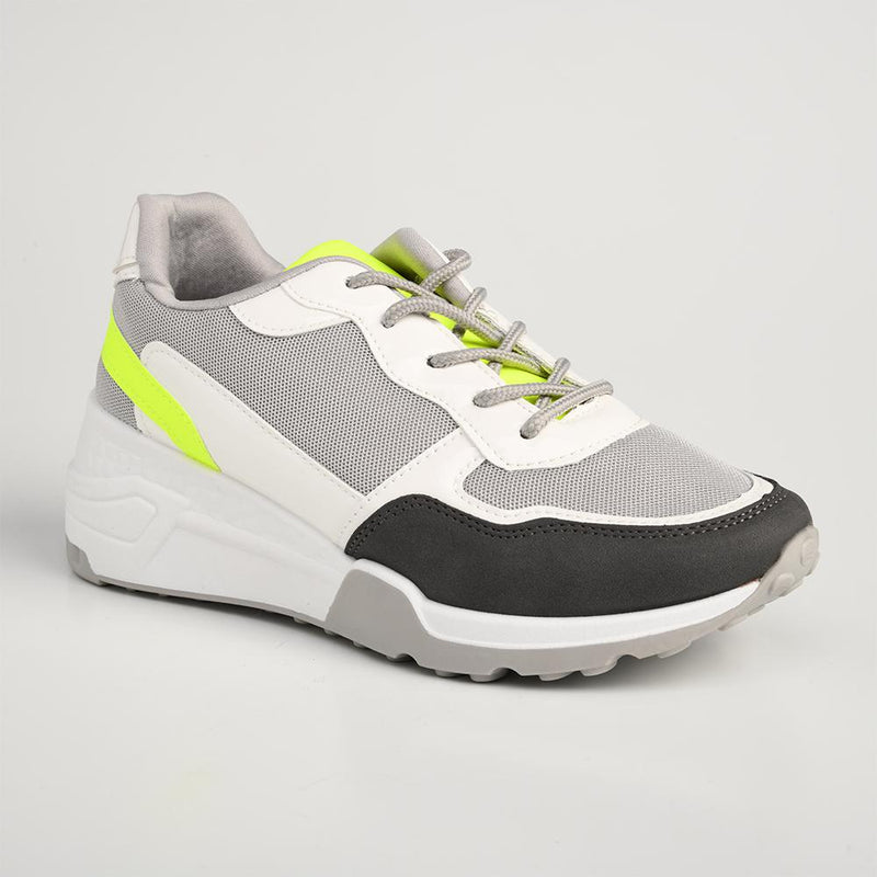 Tom Tom Women's TTL Ease 3 Sneaker - Grey-TOM TOM-Buy shoes online