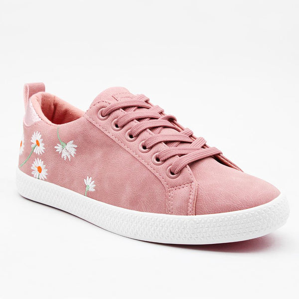 Tom Tom Women's TTL Light Daisy Sneaker - Mink Pink-TOM TOM-Buy shoes online