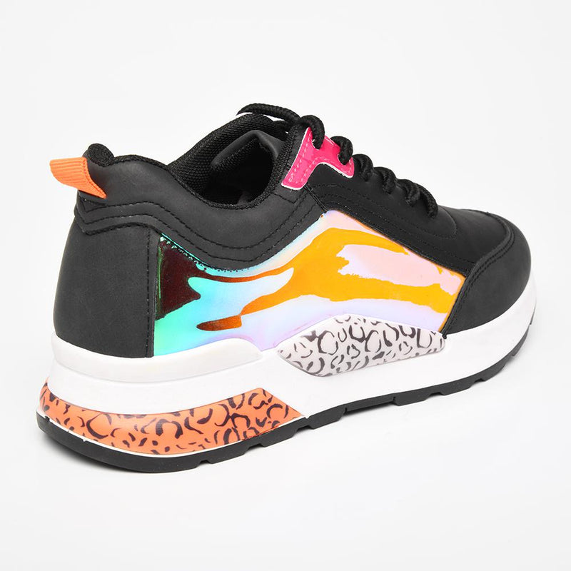 Tom Tom Women's TTL Wild Sneaker - Black Multi-TOM TOM-Buy shoes online