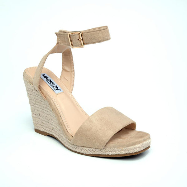 Trinity Wedges - Nude-Madison Heart of New York-Buy shoes online