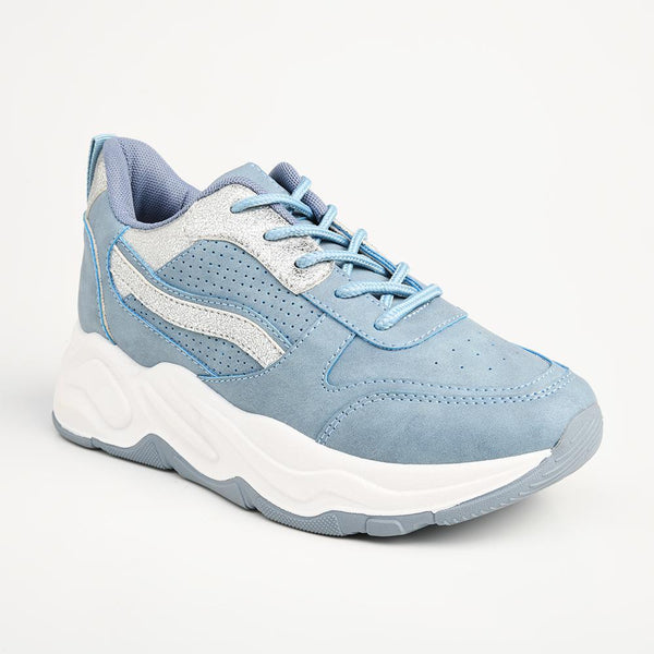 Women's Danny Fashion Sneaker - Blue-Madison Heart of New York-Buy shoes online