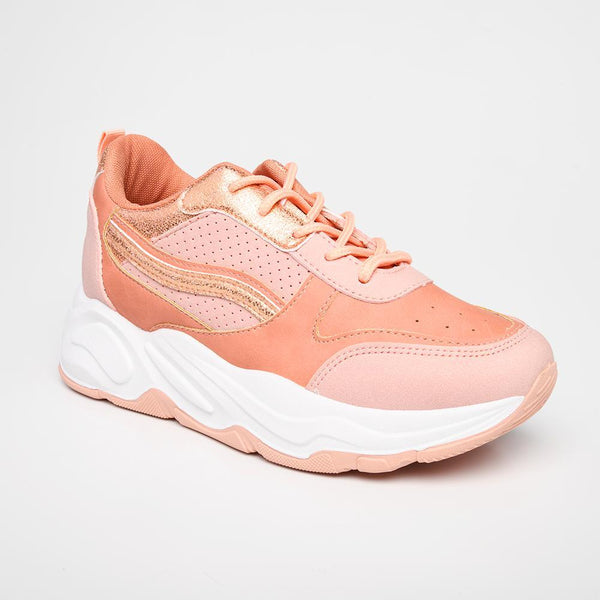 Women's Danny Fashion Sneaker - Pink-Madison Heart of New York-Buy shoes online