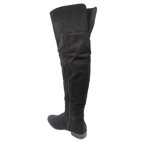 Zinnia Women's Ivy Over The Knee Boots - Black-Zinnia-Buy shoes online