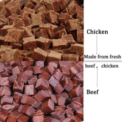 500g  Dog Food Beef Chicken taste Dry food
