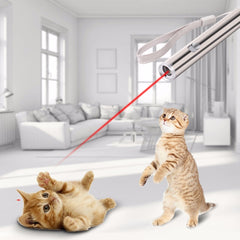 Cat Chaser Toys 2 in 1 Multifunction Funny Cats Laser Toy