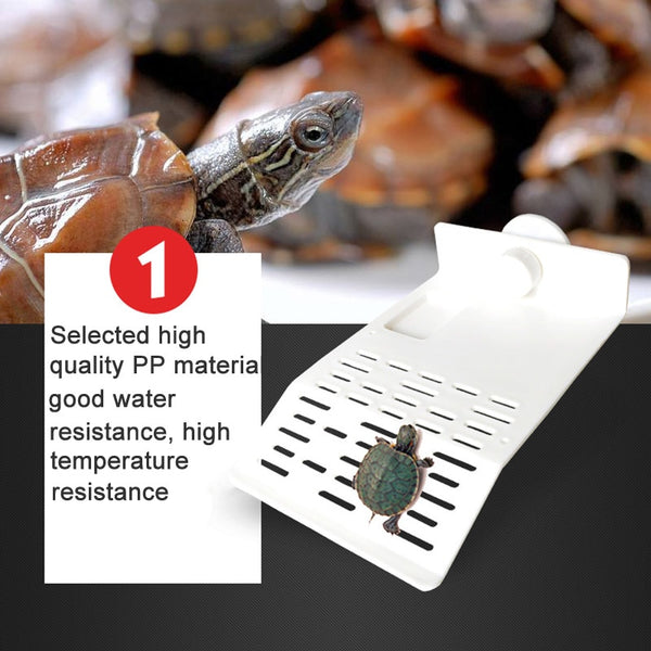 Lovely Hot Turtle Island Platform Aquarium Reptile Hollow Dock Floating Aquarium Decor LXY9 AU16