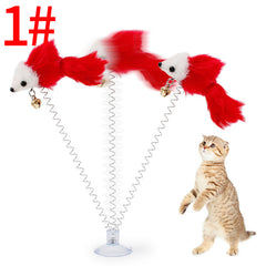 Cat Toys Feather False Mouse Kitten