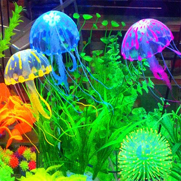 Glowing Effect Artificial Jellyfish